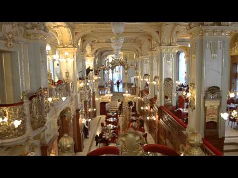 Budapest New York caffe - The Most Beautiful Caffe In The World