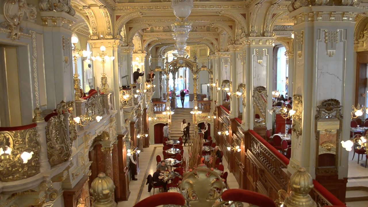 budapest new york caffe the most beautiful caffe in the world youtube. Black Bedroom Furniture Sets. Home Design Ideas