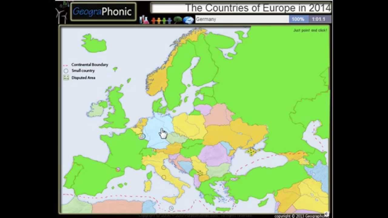Stranite Ot Evropa Prez 2015 G Nova Evropejska Karta Vklyucheni