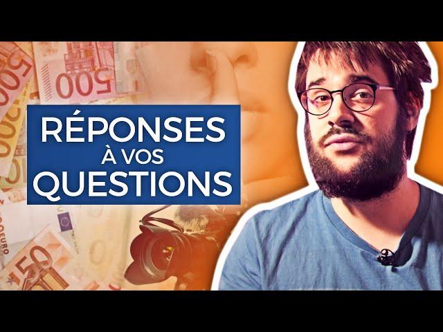 SALAIRE, CONFESSIONS, PROJETS... je réponds à vos questions !