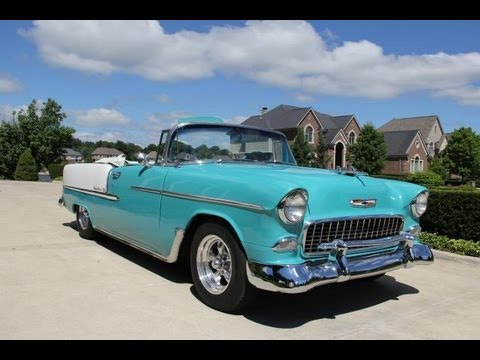 Chevy Bel Air Convertible Classic Muscle Car For Sale In Mi