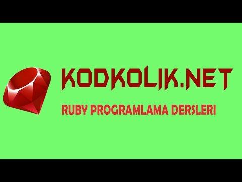 Ruby Programlama Dersleri - RUBY Dili Hakkında
