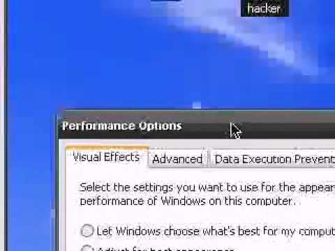 How To  Make Windows XP Faster And More Efficient [High Quality] - Part One