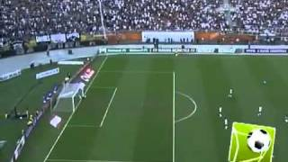 Amazing goal from Wallyson, Cruzeiro  24.07.2011.