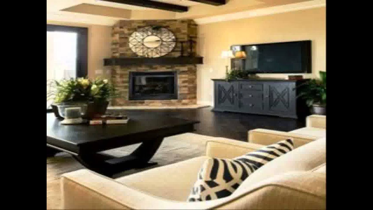 Traditional living room ideas houzz youtube for Living room decor ideas houzz