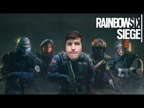 RAINBOW SIX SIEGE - LUTAMOS ATÉ A ULTIMA RODADA !!!
