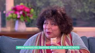 Miriam Margolyes funny bits - 2nd May 2017