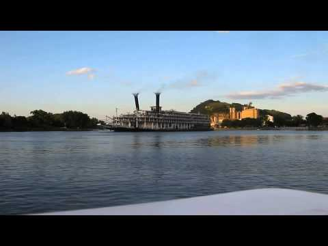 american-queen-steamboat-spins-at-red-wing-marina-as-steam-calliope-plays.-(shorter-faster-version)