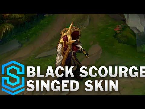 Black Scourge Singed Skin Spotlight - League of Legends