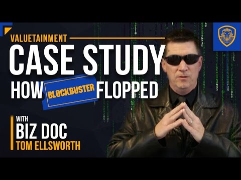 How Blockbuster Flopped - A Case Study for Entrepreneurs