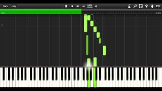 Synthesia - Corpse Party Chapter 1 BGM Piano