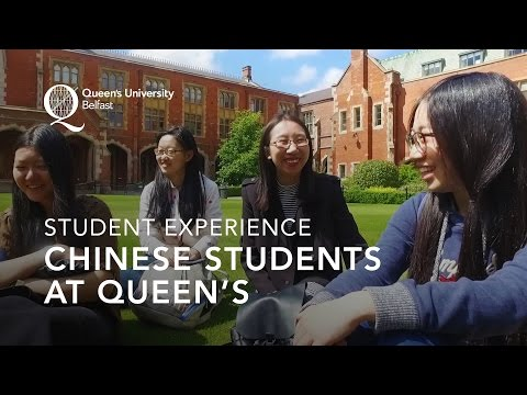 My experience – Chinese students at Queen's