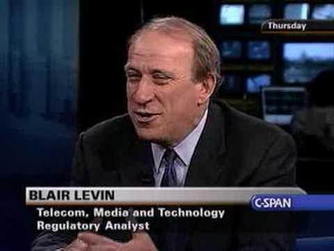 The Communicators: Blair Levin, Telcom, Media and Technolo