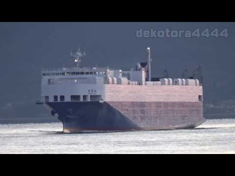 日藤海運「日侑丸」 Ro-Ro Cargo NICHIYU MARU
