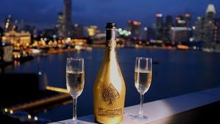 La guerre des champagne de luxe