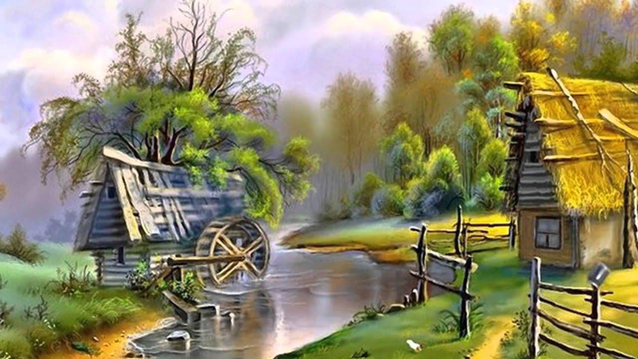 Обои сказочные пейзажи на рабочий стол 6