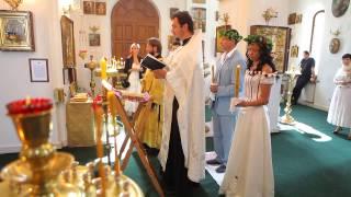 Венчание. Олег и Анна. 31 июля 2011 года