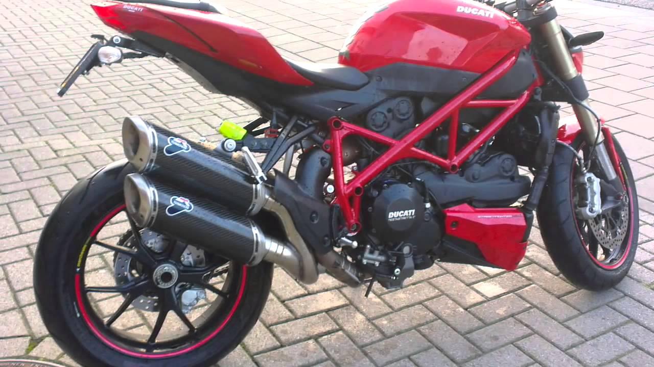 Ducati Streetfighter 848 2013 With Termignoni