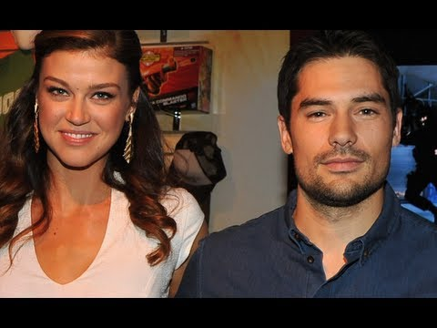 D.J. Cotrona & Adrianne Palicki HD Interview - G.I. Joe Retaliation