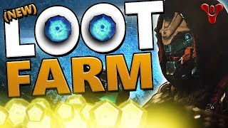 Destiny 2: NEW LOOT CAVE FARMING *UNLIMITED* ENGRAM & TOKEN  FARM!!