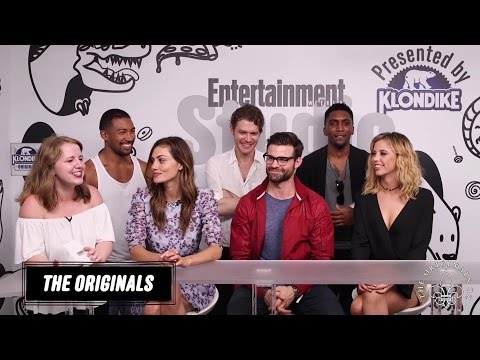 The Originals Cast Interview Entertainment Weekly Comic Con 2016