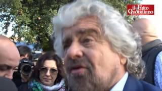 """Referendum, Grillo: """"No a modifiche della Costituzione da travestiti morali"""""""