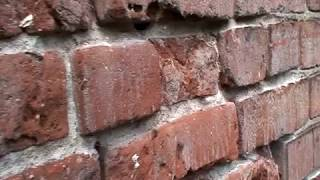 Repointing Brick:  The Basic Techniques of Safe Mortar Removal