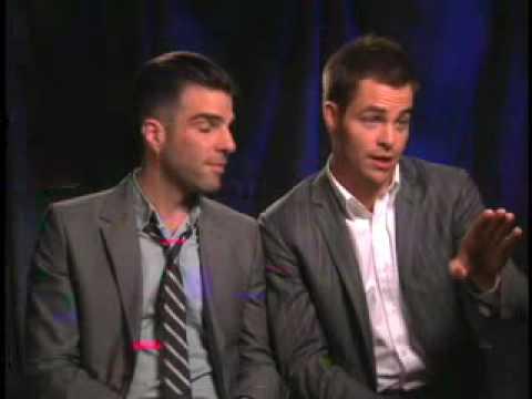 Zachary Quinto & Chris Pine (Uncut) -- Part 1