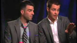 Zachary Quinto & Chris Pine (Uncut) -- Part 1