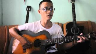 muốn nói lời yêu em guitar Quang Trí
