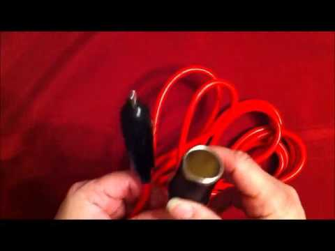 Nilight NIL101 Car Charger 12' Heavy Duty Extension Cord Cable Review