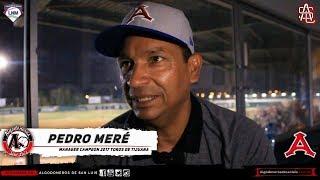 ►Entrevista a Pedro Meré, Manager Campeón🏆