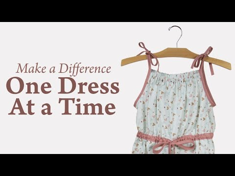 Make a Difference One Dress At a Time