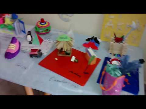Best out of waste craft ideas for kids youtube for Project of best out of waste