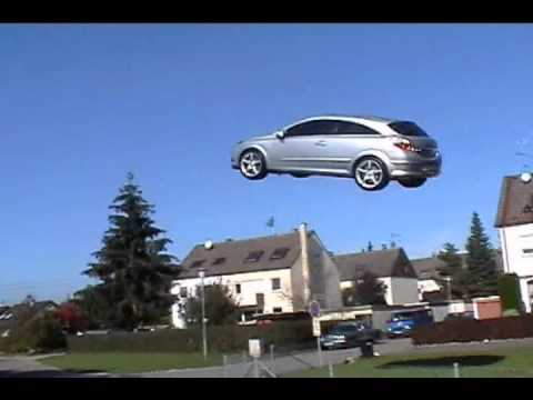 Flying Car Outdoor Test Advertising Idea Youtube