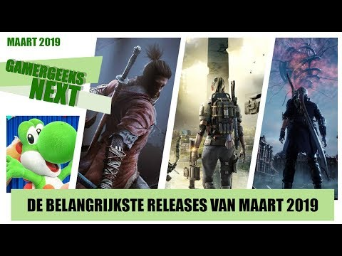 Game releases maart 2019 – Sekiro, The Division 2, Devil May Cry 5 en meer! thumbnail