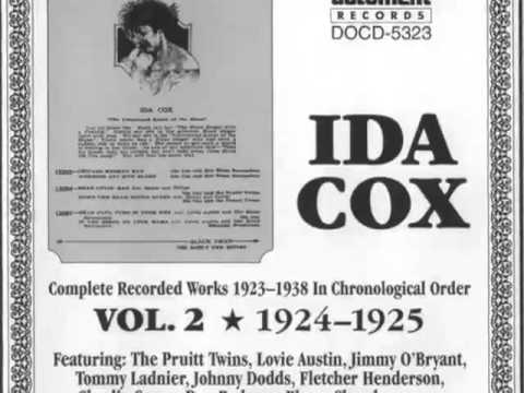 Ida Cox-WIld Women Don't Have the Blues