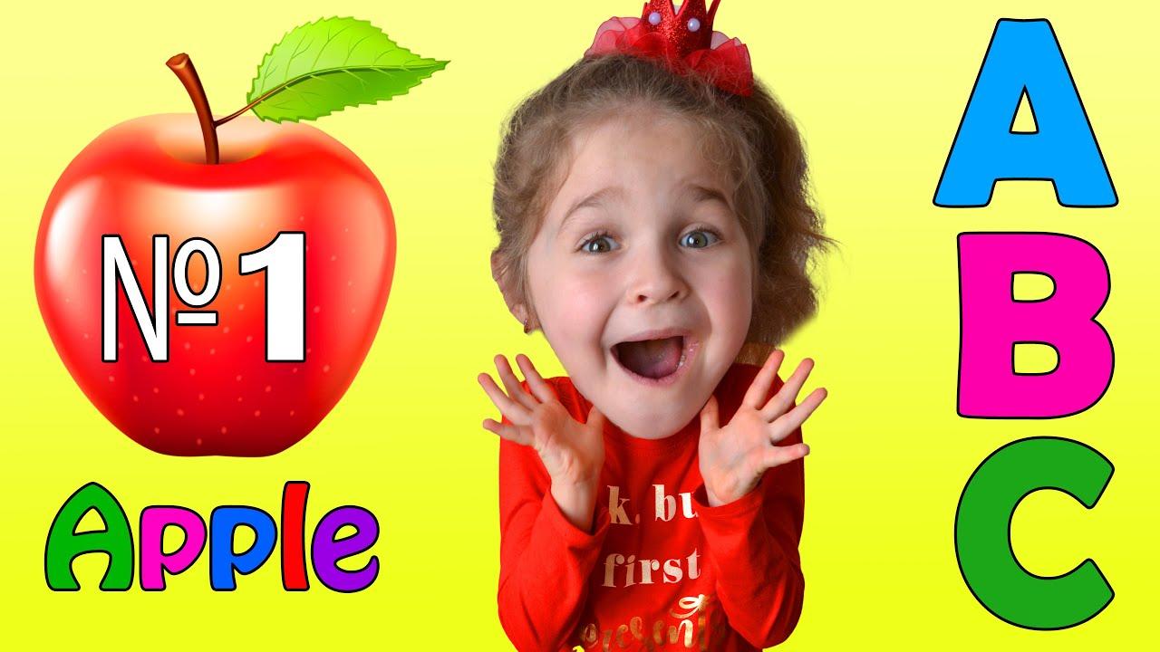 Весело изучайте Английский алфавит с картинками и словами ...