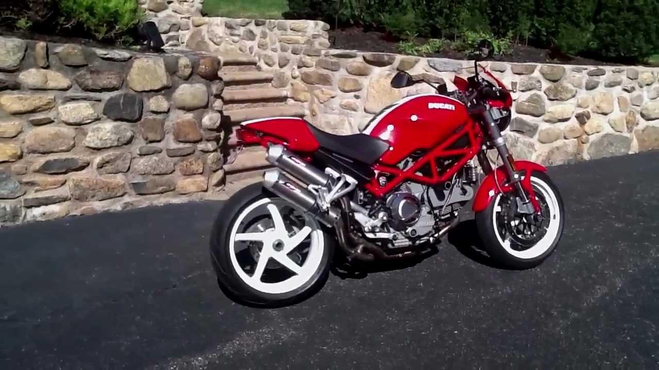 Ducati Monster  Arrow Exhaust