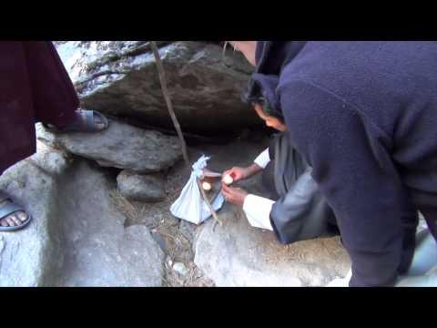 Mebar Tsho der brennende See bei Jakar Bumthang in Bhutan