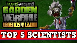 Baixar - Plants Vs Zombies Garden Warfare Top 5 Characters Scientists Grátis