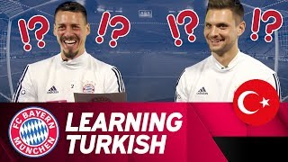 🇹🇷Turkish Word Guessing Game w/ Sandro Wagner & Sven Ulreich 💭⁉️ | #FCBBJK