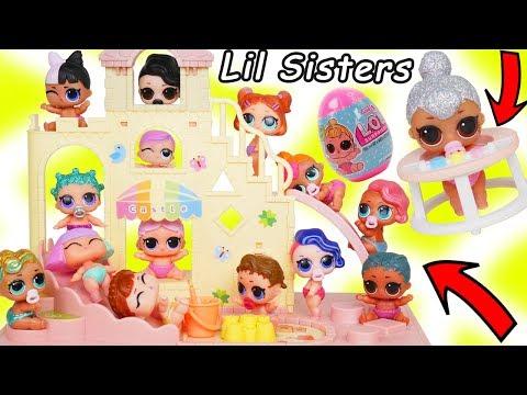 Barbie Doll Castle Nursery Family Adventures with LOL Goldie Mermaid