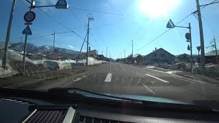 北海道車載動画(余市町~共和町)4K対応 Videos taken in Hokkaido
