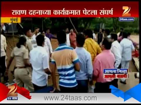 Mumbai Shiv Sena Activists Attack Kirit Somaiya