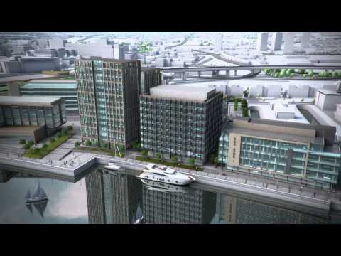 City Quays Masterplan Fly-Through