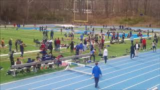 4/21/18 - Widener Invitational - Men's 200m