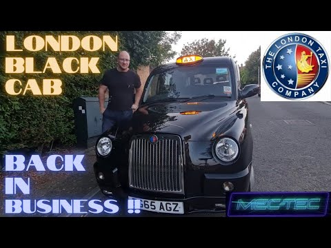 London Taxi TX4 Recommission... Back In Business !