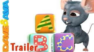 ABC Song - Trailer | THE BEST Nursery Rhymes and Baby Songs from Dave and Ava