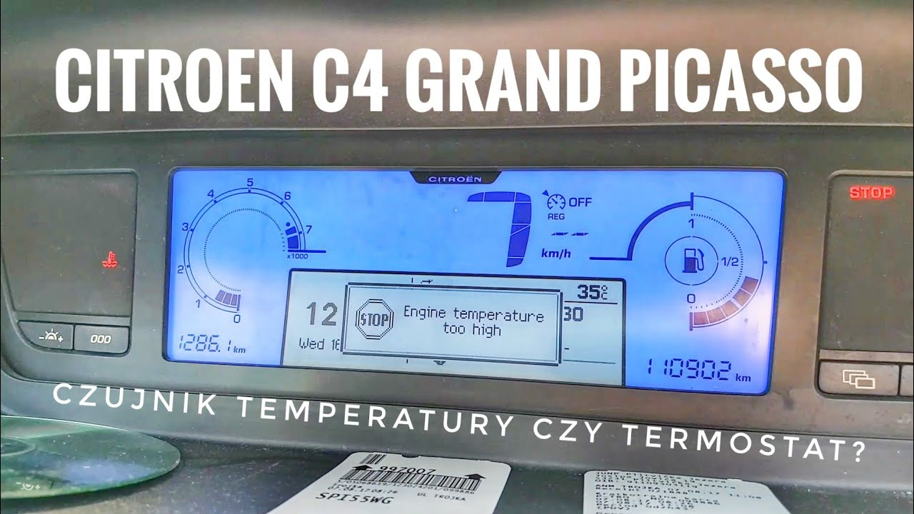 hight resolution of citroen c4 grand picasso engine temperature too high stop